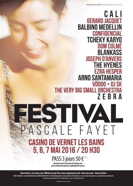 Affiche du festival Pascale Fayet 2016