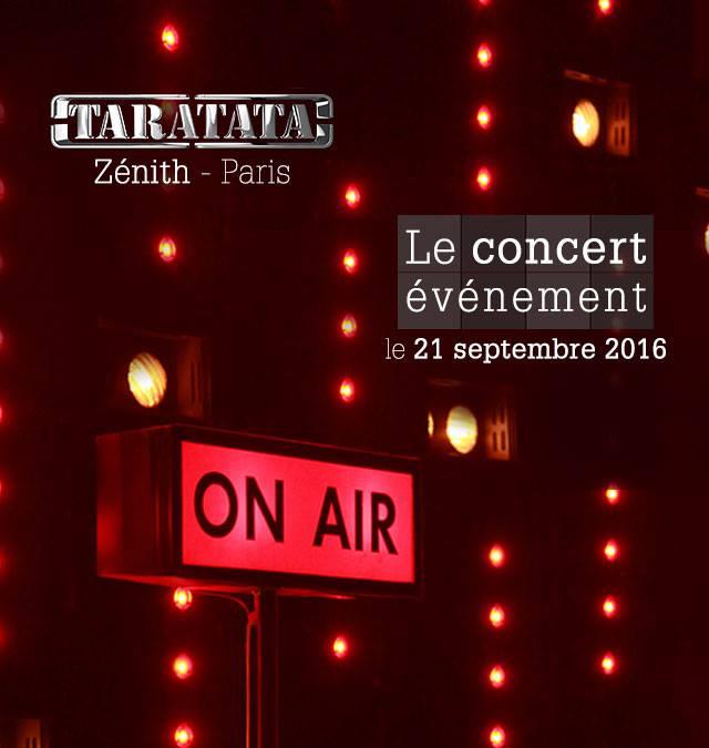 Taratata concert événement 2016 cali